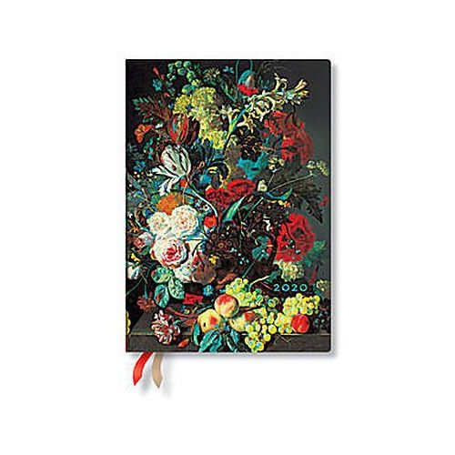 Paperblanks Kalendarz książkowy midi 2020 12m van huysum (9781439761748)