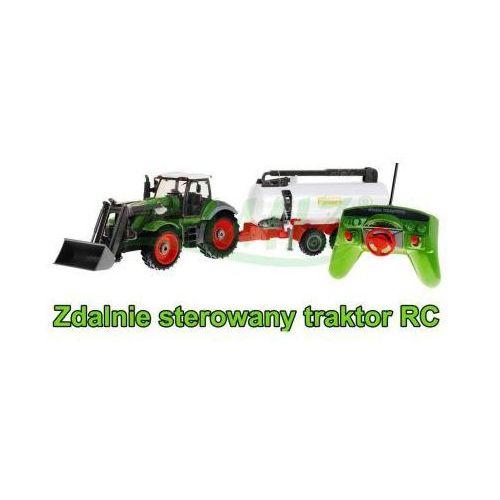 Rui ch. Duży zdalnie sterowany traktor z przyczepą (cysterną) + pilot radiowy.