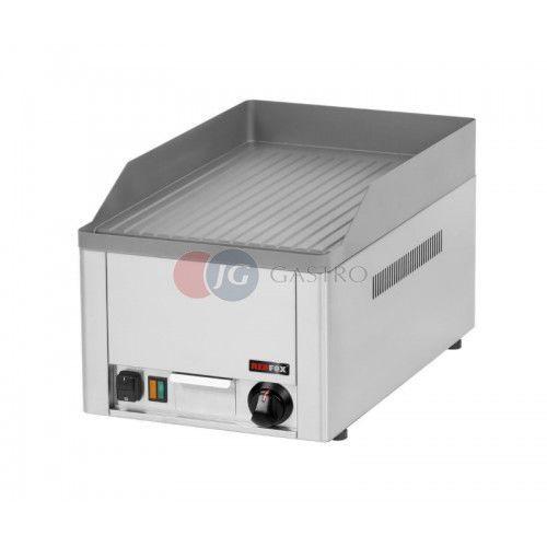 Płyta grillowa elektryczna pojedyncza ryflowana Red Fox FTR - 30 E, FTR - 30 E