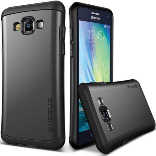 VRS DESIGN Hard Drop Etui Samsung Galaxy A7 czarny, kolor czarny