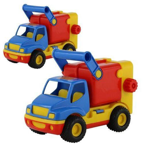 Construck samochód komunalny w siatce marki Wader-polesie