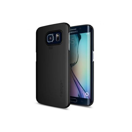 Samsung Galaxy S6 Edge - etui na telefon Spigen Thin Fit - Smooth Black