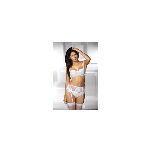 Biustonosz bardotka ava 605 biały marki Ava lingerie