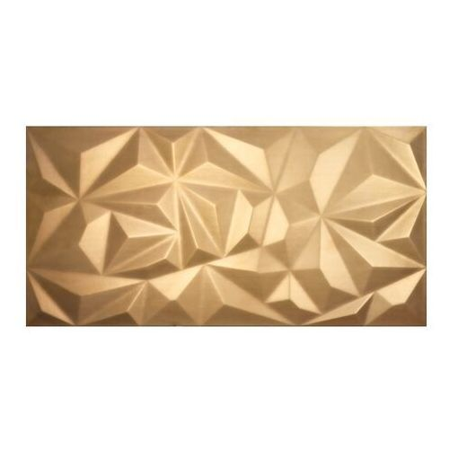 Ceramstic Dekor metal kite 30 x 60 cm gold mat