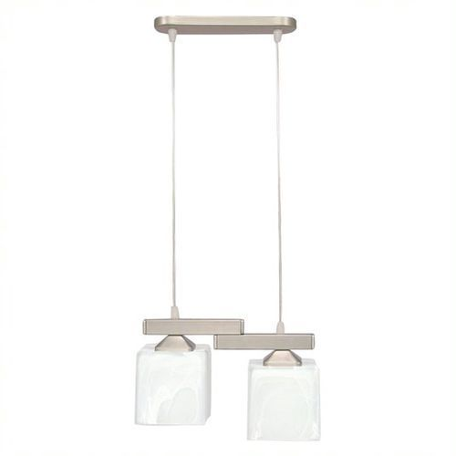 Kostka lampa wisząca 2-punktowa O1062/W2 SAT, kolor Srebrny