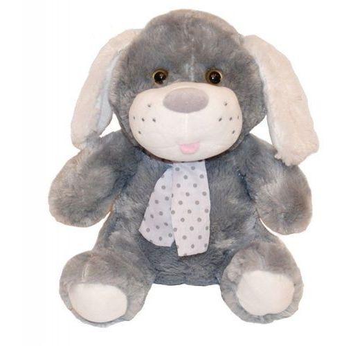 Maskotka Pies Kolekcja Silver szary 35 cm - DARMOWA DOSTAWA OD 199 ZŁ!!! (5902002998291)