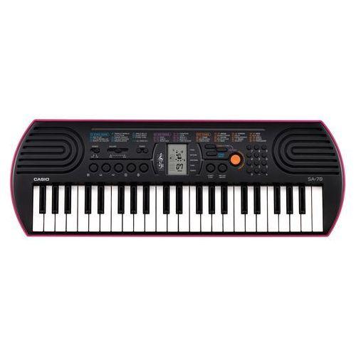 OKAZJA - Casio sa-78 keyboard dla dzieci (4971850321149)
