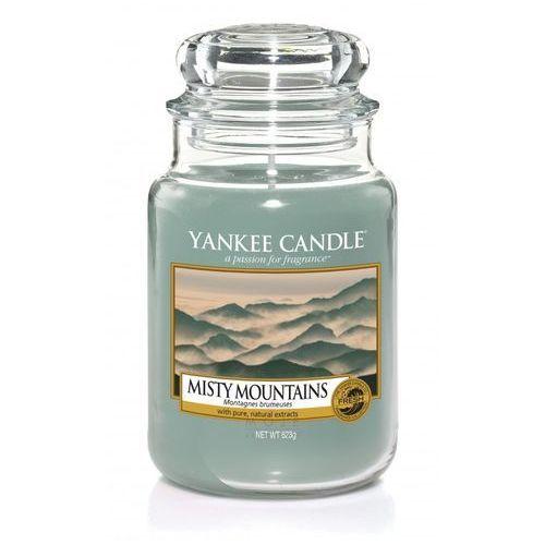 Yankee candle misty mountains 623g duża świeca szybka wysyłka infolinia: 690-80-80-88 (5038581033693)