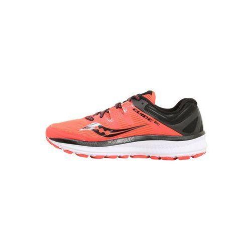 Saucony GUIDE ISO Obuwie do biegania Stabilność vizired/black, kolor czerwony