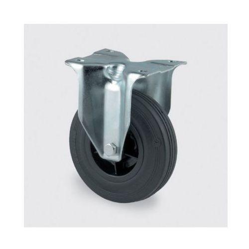 Koła przemysłowe z maksymalnym obciążeniem 70-205 kg, czarna guma marki Tente