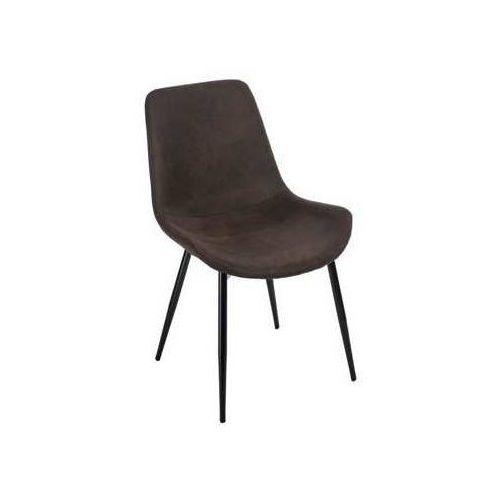 Krzesło Relax ciemny brąz, kolor brązowy
