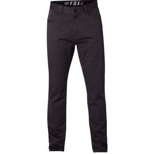 Fox Spodnie - stretch chino pant blk vin (587) rozmiar: 30