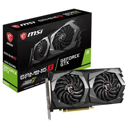 geforce gtx 1650 gaming x - 4gb gddr5 ram - karta graficzna marki Msi