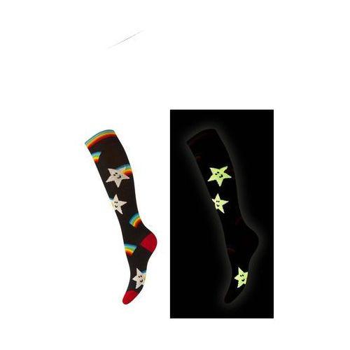 Soxo Podkolanówki świecące w ciemności! 61474 rozmiar: 30-35, kolor: różowy, soxo
