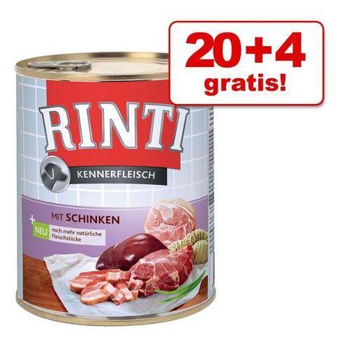 RINTI Pur Kennerfleisch - żwacz 800g, 11797 (2509532)