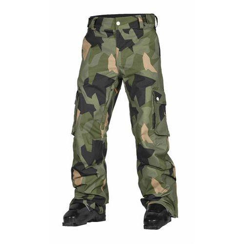 Spodnie - wear pant asymmetric olive (510) rozmiar: xl marki Clwr