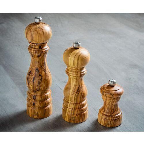 Młynek do pieprzu z drewna oliwnego 22 cm peugeot paris olivier (pg-38175)