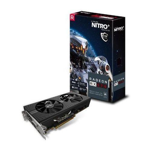 Sapphire technology Radeon RX 570 NITRO+ 4GB GDDR5 256bit - produkt w magazynie - szybka wysyłka!