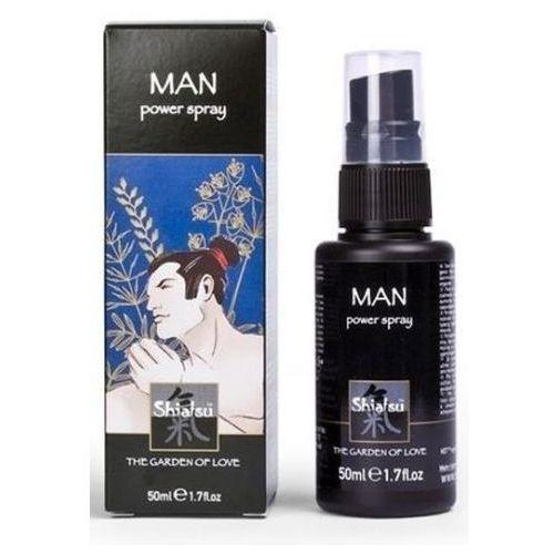 Shiatsu Power Spray Man Silny płyn erekcyjny do penisa dla mężczyzn 50 ml 66082