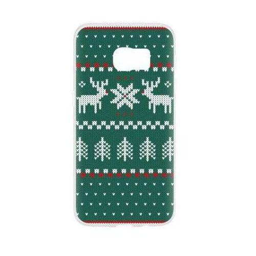 Etui FLAVR Case Ugly Xmas Sweater do Samsung Galaxy S7 Zielony (27387)