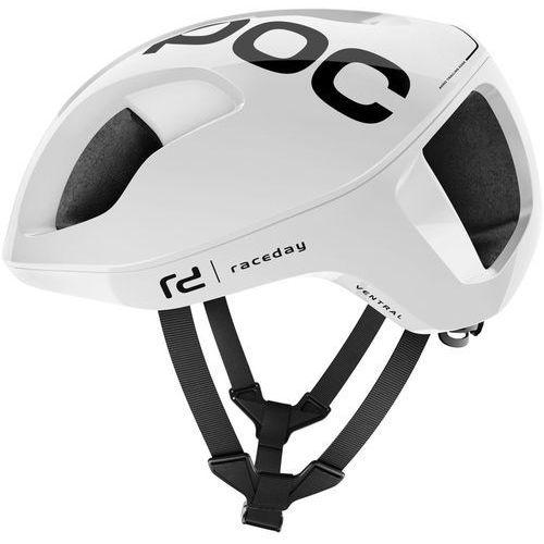 Poc ventral spin kask rowerowy biały l | 56-62cm 2018 kaski rowerowe