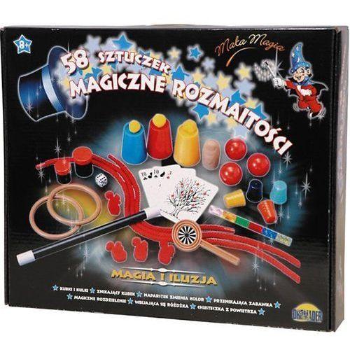 - zestaw małego magika 58 sztuczek + dvd marki Dromader