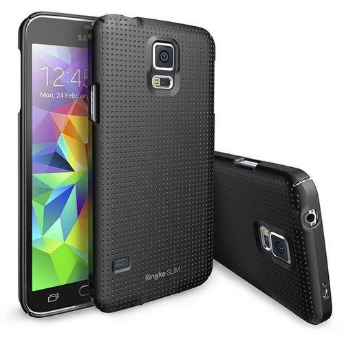 Rearth Ringke Slim Samsung Galaxy S5 Dot Black, kolor czarny