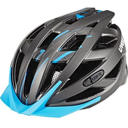 Uvex Kask rowerowy city i-vo - szaro niebieski (4043197283494)