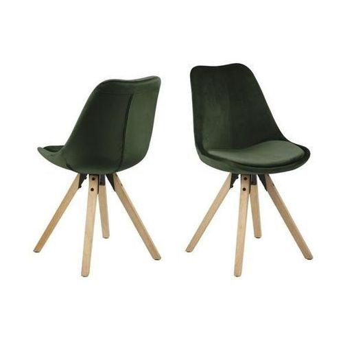 Krzesło dima vic - zielony ciemny marki Actona
