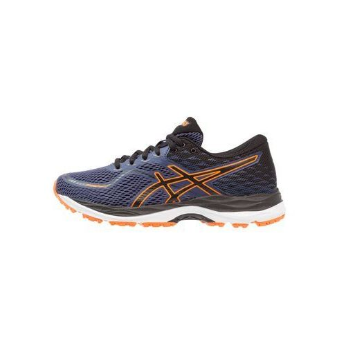ASICS GELCUMULUS Obuwie do biegania treningowe indigo blue/black/shocking orange, C742N