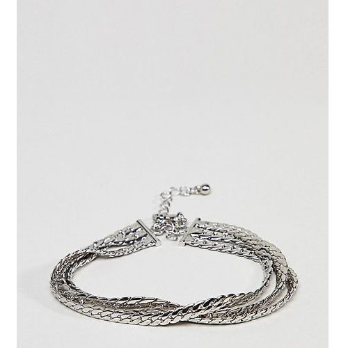Designb london Designb silver chain bracelet exclusive to asos - silver