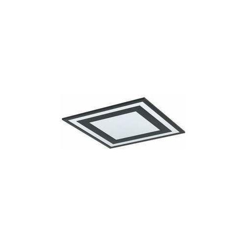 Eglo savatarila 99038 lampa wisząca zwis 1x24w led czarna/biała (9002759990381)