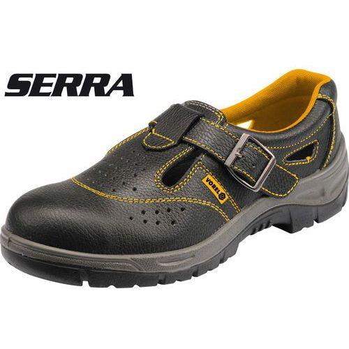 Sandały robocze serra s1 rozmiar 45 / 72827 / VOREL - ZYSKAJ RABAT 30 ZŁ