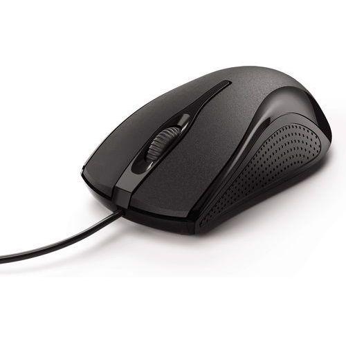 Mysz przewodowa mc-200 czarny marki Hama