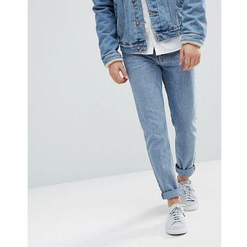 Weekday Sunday Tapered Fit Jeans Bate Blue - Blue, kolor niebieski
