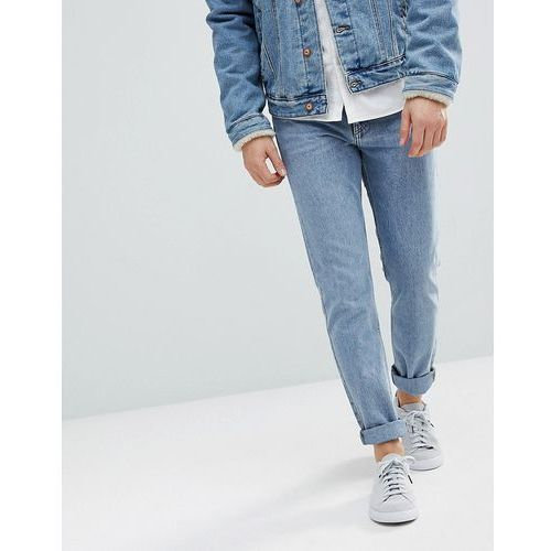 Weekday sunday tapered fit jeans bate blue - blue