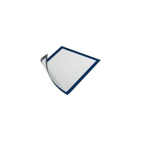 Magnetoplan Koszulka magnetyczna 232x52mm ramka niebieska 5szt (4013695057248)