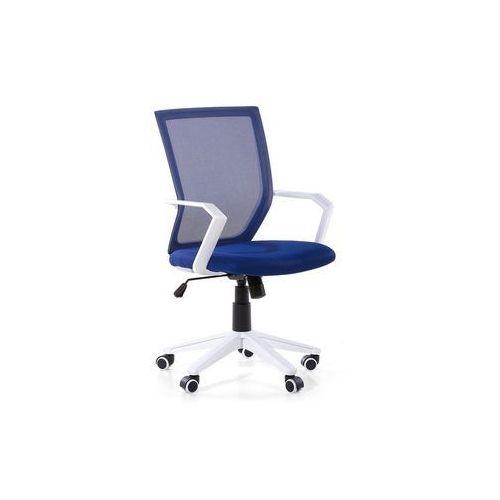 Krzesło biurowe ciemnoniebieskie regulowana wysokość RELIEF (7105278479244)
