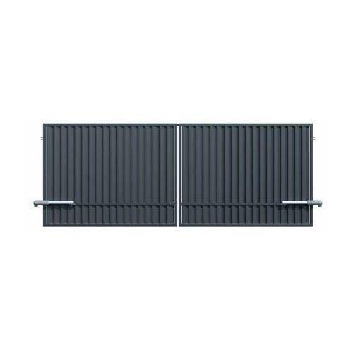Brama dwuskrzydłowa z automatem TOPAZ 350 x 150 cm POLARGOS (5902360132931)