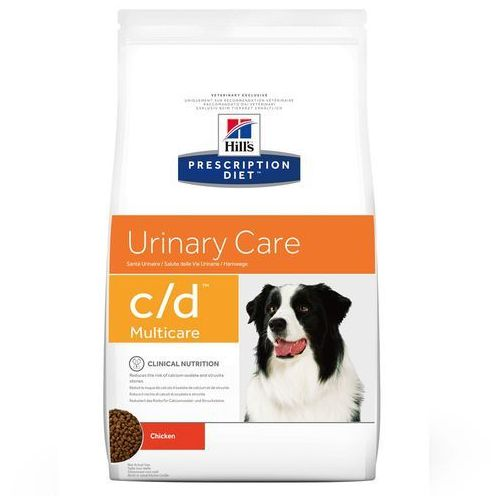canine urinary c/d - 2 x 12 kg marki Hills prescription diet