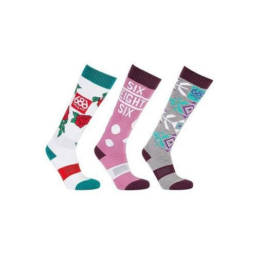 686 Skarpetki - heater sock - 3 pack assorted (ast) rozmiar: os