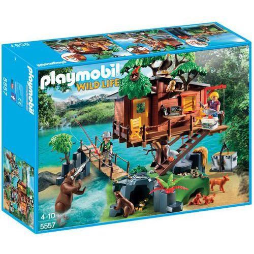 Playmobil WILD LIFE Przygoda z domkiem na drzewie 5557 rabat 5%