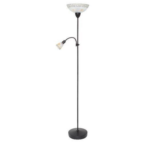 Lampa podłogowa stojąca Rabalux Etrusco 1x60W E27 + 1x40W E14 antyczny brąz 6968