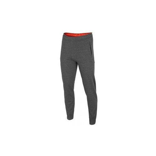 4f Męskie spodnie dresowe t4l16-spmd001 ciemnoszary melanż