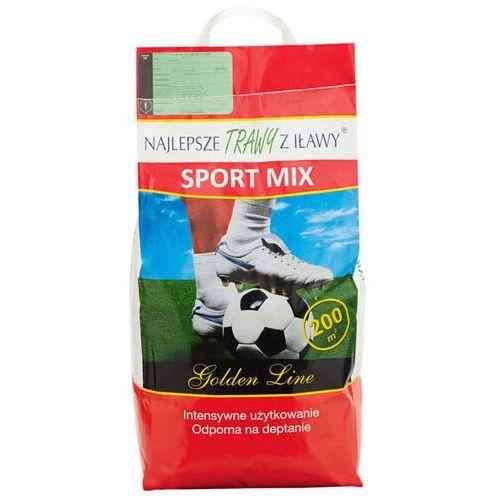 Najlepsze trawy z iławy Trawa sport mix 5 kg (5907466502329)