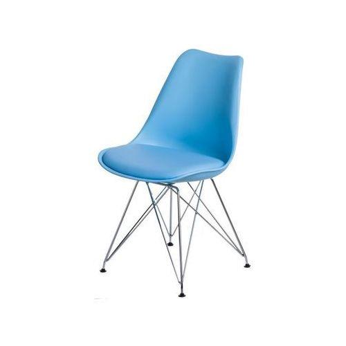Krzesło Norden DSR PP jasne niebieskie 1643 - niebieski jasny (5902385729512)