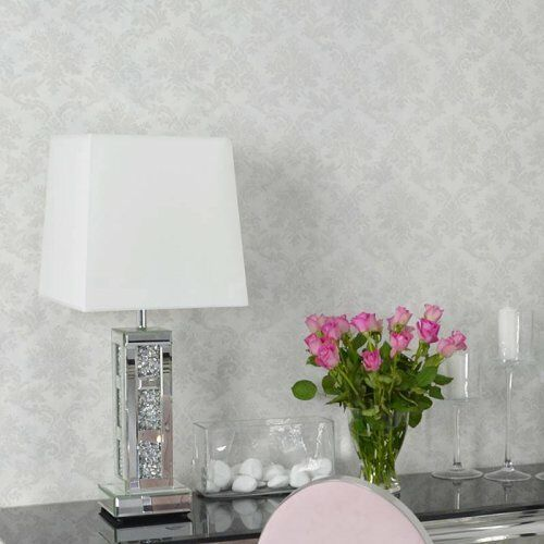 Bellacasa Lampa glamour stołowa dekorowana l-0514 (5908273396392)
