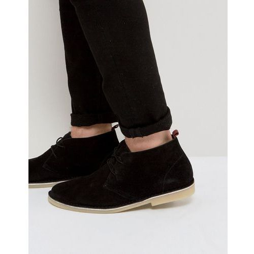 Kg by kurt geiger maltby desert boots black suede - black, Kg kurt geiger