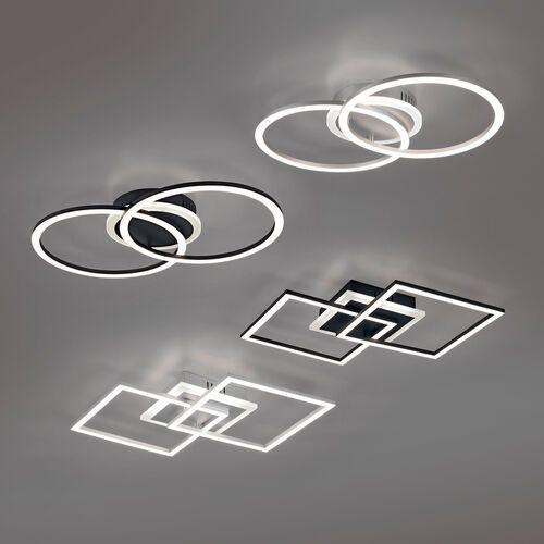 Trio rl venida r62783132 plafon lampa sufitowa 1x25w led 3000k czarny mat