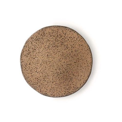 Hk living ceramika gradientowa: talerz beżowy ace6899